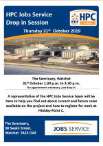 HPC Jobs Service – Drop in Session – Watchet