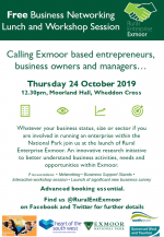Free Business Networking Lunch and Workshop Session – Rural Enterprise Exmoor